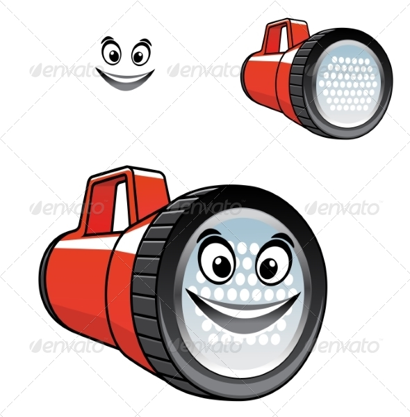 GraphicRiver Flashlight with Smile 7974611