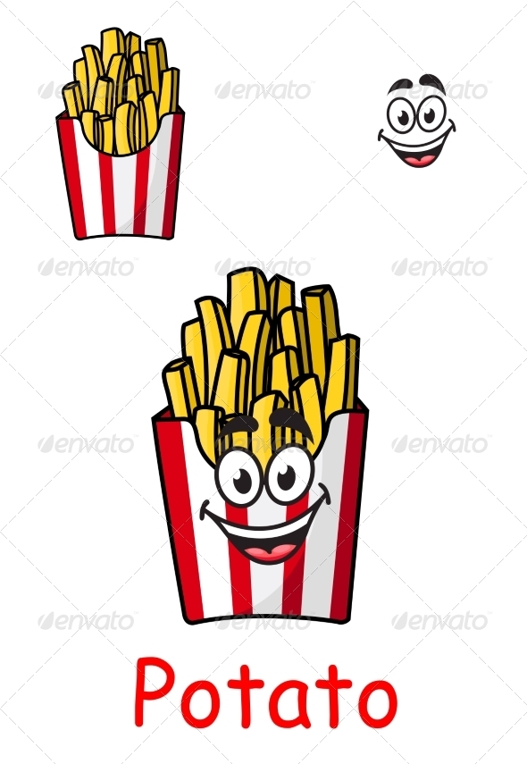 GraphicRiver Fries with Smile 7975269