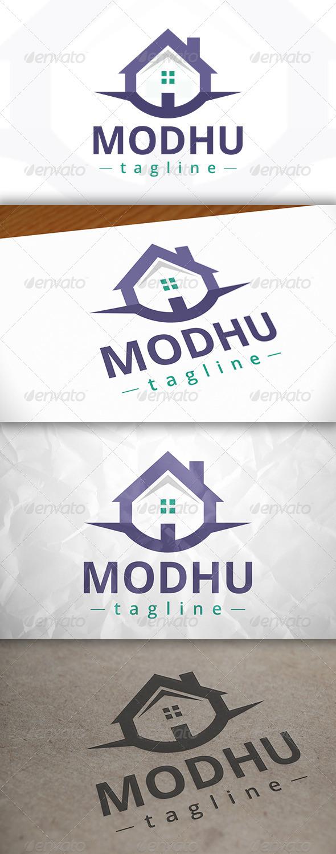GraphicRiver Modern House Logo 7975433