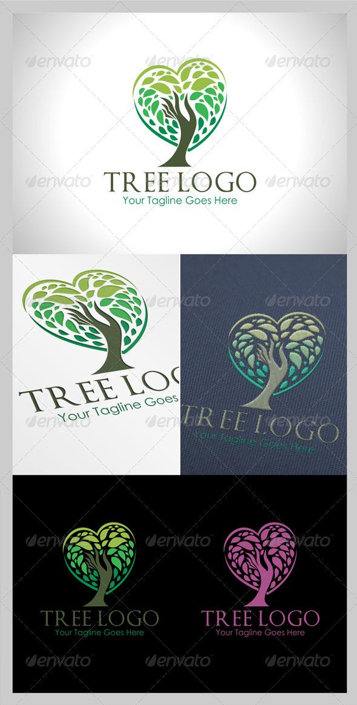 GraphicRiver Tree Logo 7975466