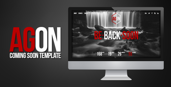 Agon - Responsive Coming Soon Template