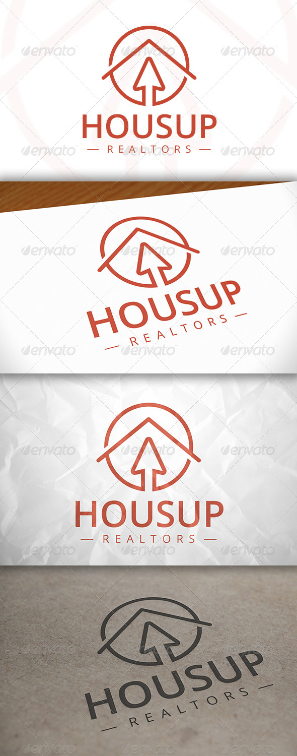 GraphicRiver House Up Logo 7975508
