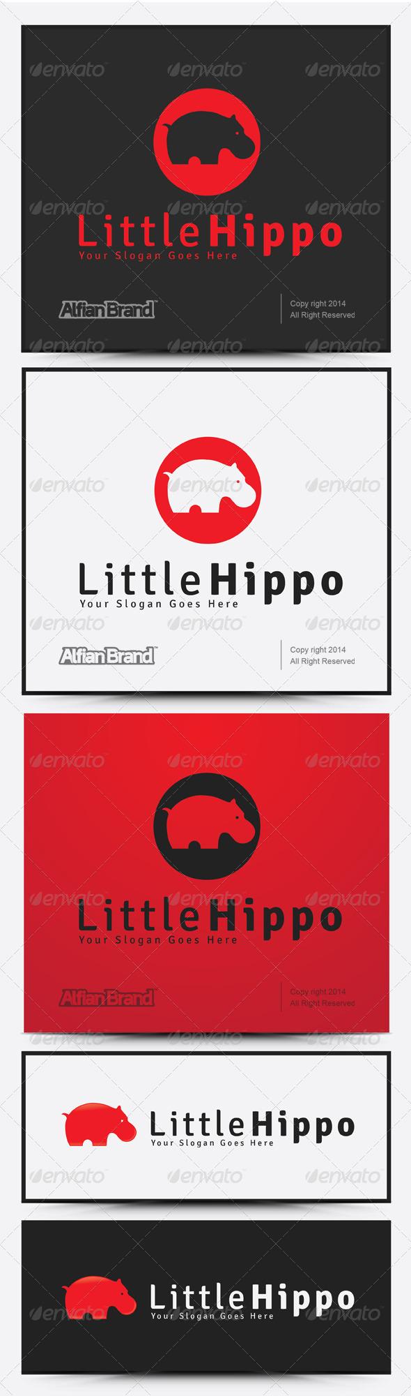 GraphicRiver Hippo Logo 7973395