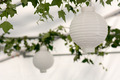 Lanterns in a summer pavilion - PhotoDune Item for Sale