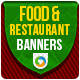 Food and Restaurant Banners - GraphicRiver Item for Sale