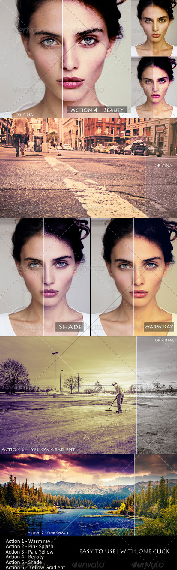 GraphicRiver 6 PS Actions 7976416
