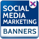 Social Media Marketing Banners - GraphicRiver Item for Sale