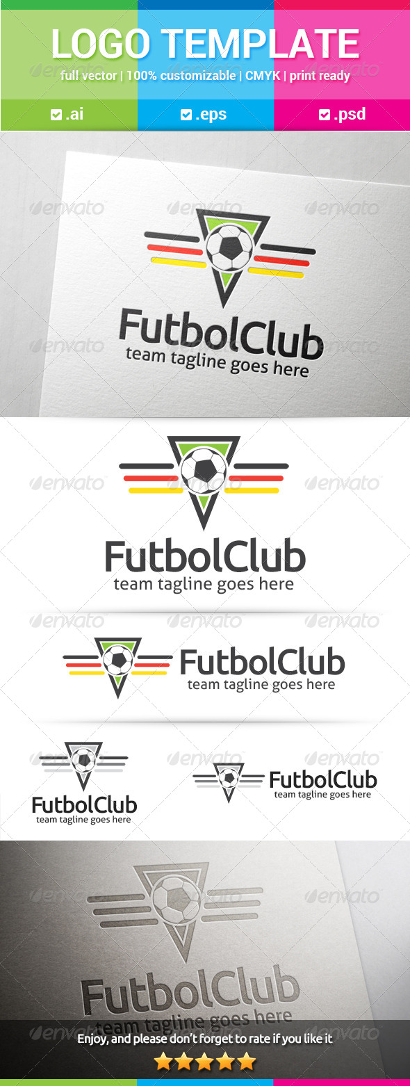 GraphicRiver Futbol Club v.1 7976747