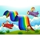 Monkeys, Planes and a Rainbow - GraphicRiver Item for Sale