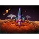 Planet with Aircraft - GraphicRiver Item for Sale