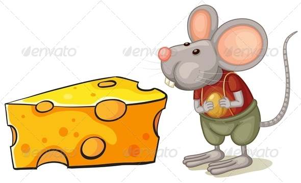 GraphicRiver Mouse with Cheese 7977028