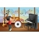 Kid Playing Music - GraphicRiver Item for Sale