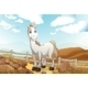 Horse near Fence - GraphicRiver Item for Sale