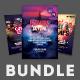 City Party Flyer Bundle - GraphicRiver Item for Sale