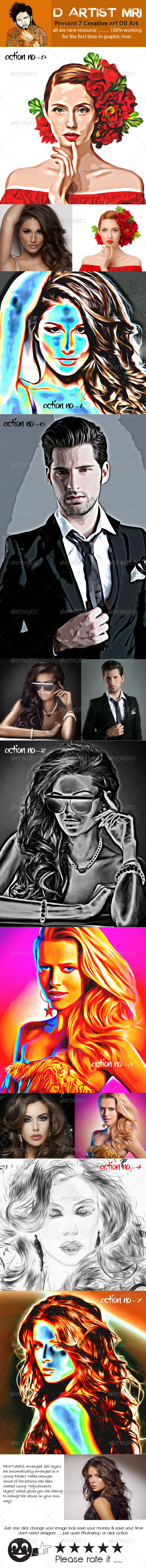 GraphicRiver Creative Oil Art 7977511