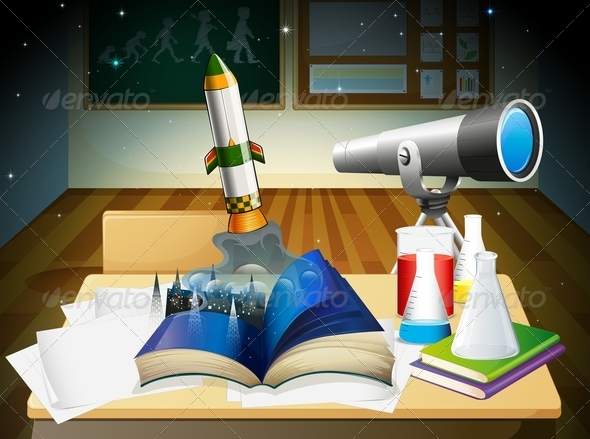 GraphicRiver A Science Laboratory 7977629