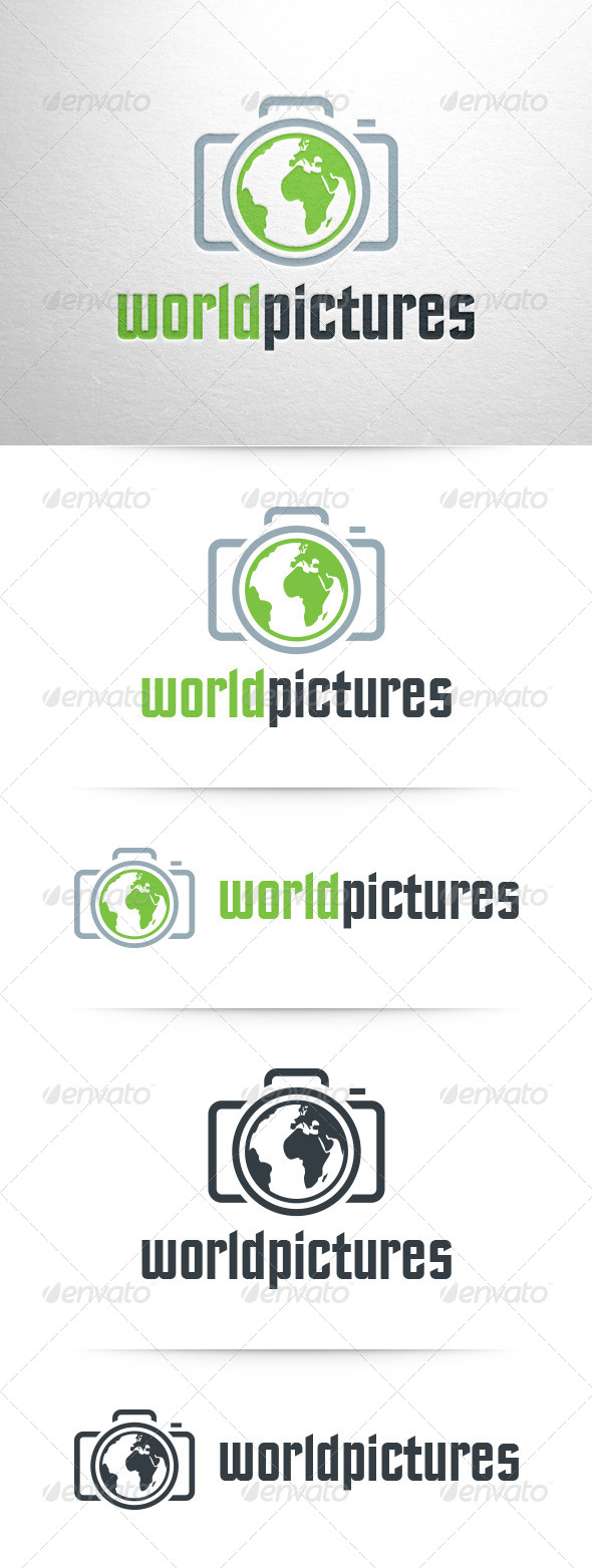 GraphicRiver World Pictures Logo Template 7977770