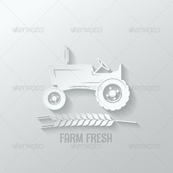 GraphicRiver Farm Fresh Background 7974205