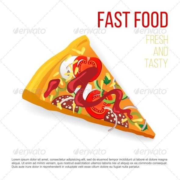 GraphicRiver Slice of Pizza 7978539