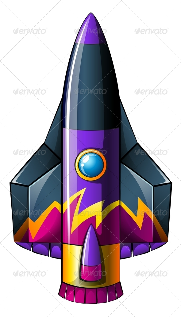 GraphicRiver Colorful Rocket 7978643