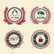 Achievement Badges - GraphicRiver Item for Sale