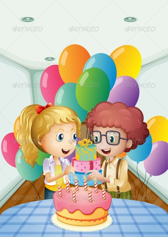 GraphicRiver Birthday Party 7979543