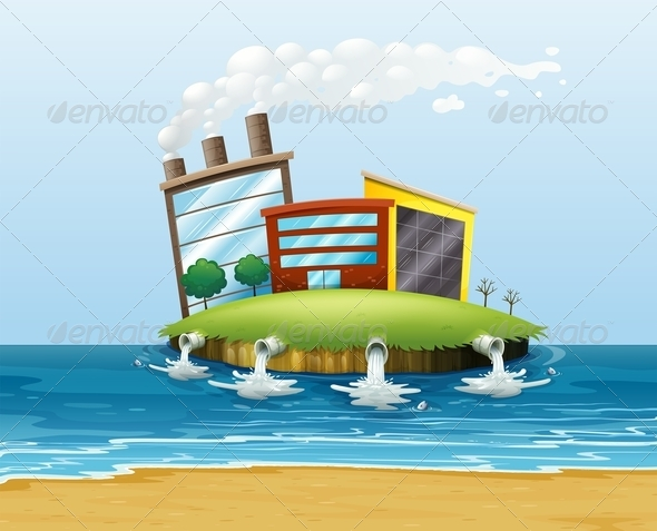 GraphicRiver Polluted Environment 7979687