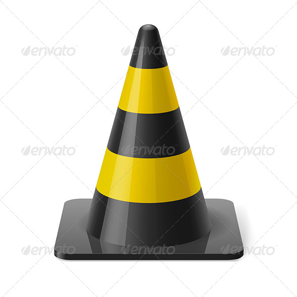 GraphicRiver Traffic Cone 7979799