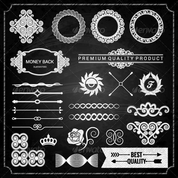 GraphicRiver Design Elements Chalk Texture 7787598