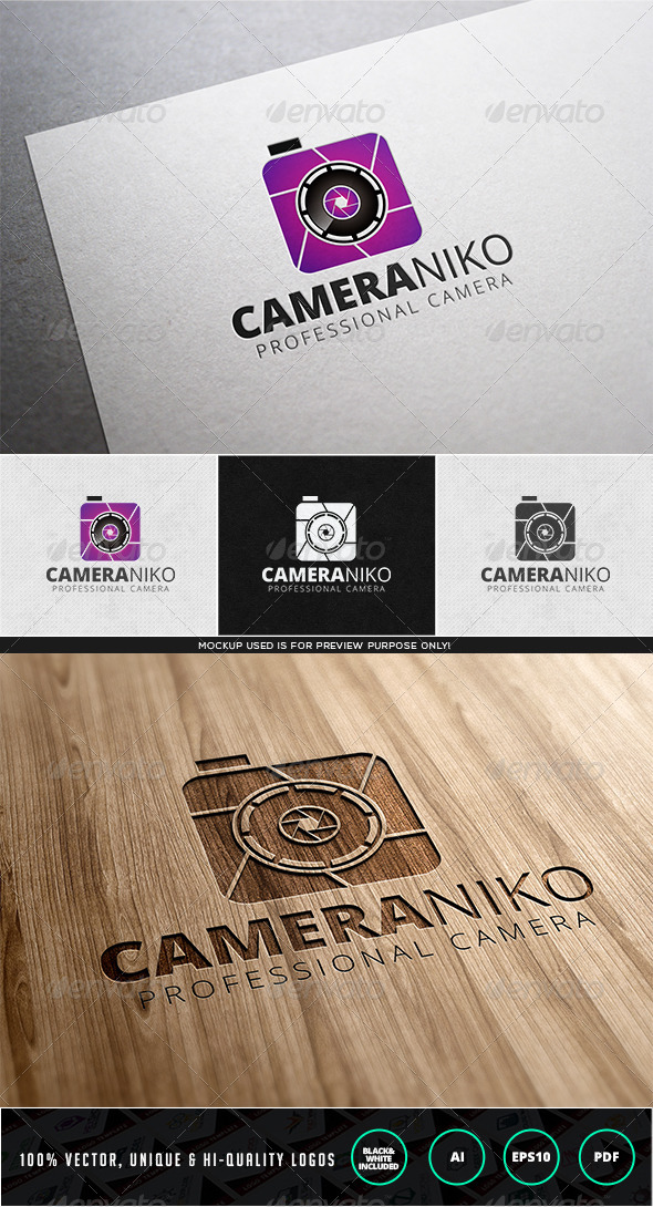 Cameraniko Logo Template - Objects Logo Templates