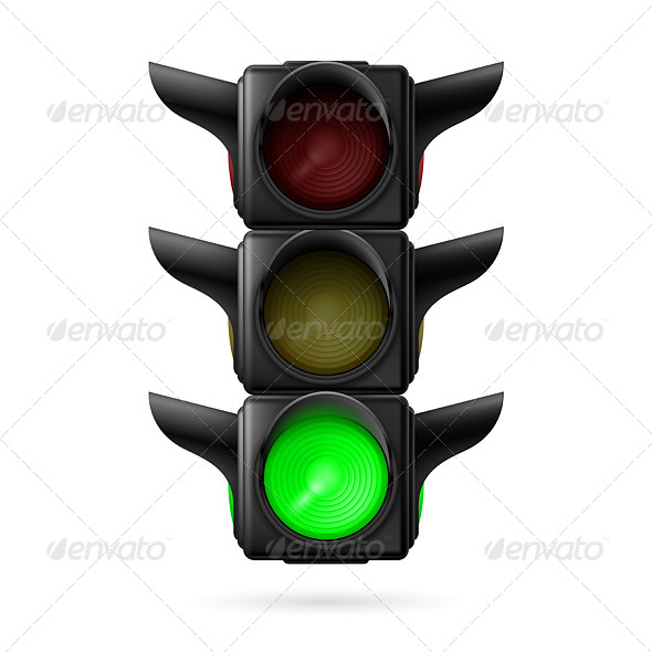 GraphicRiver Traffic Light 7980082