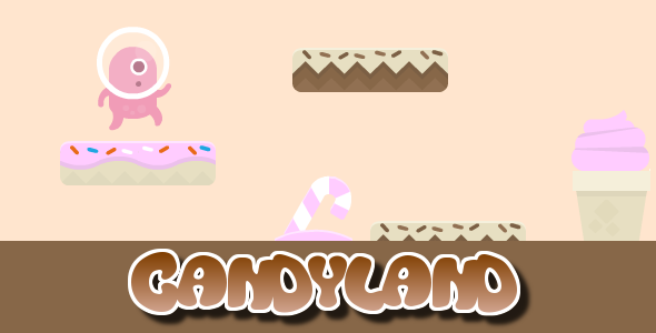 CodeCanyon Candyland Infinite Jumper with Google Play Games 7980150