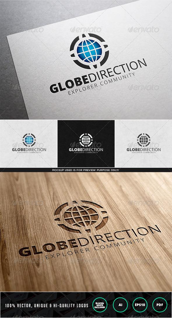 GraphicRiver Globe Direction Logo Template 7980171
