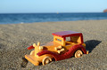 Toy Car on the Seashore - PhotoDune Item for Sale