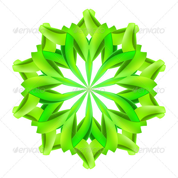 GraphicRiver Abstract Green Pattern 7981320