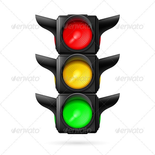 GraphicRiver Traffic Light 7981347