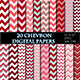 Red Chevron Digital Paper Scrapbooking Paper - GraphicRiver Item for Sale
