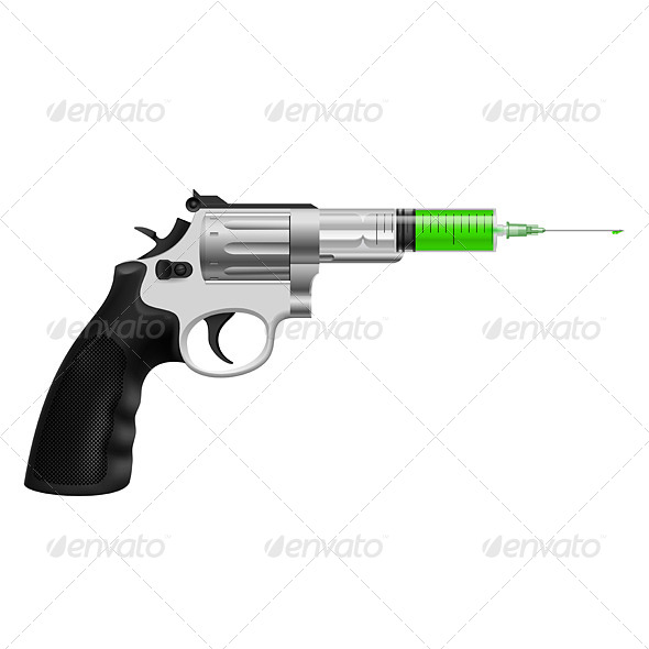 GraphicRiver Syringe in Revolver 7981870