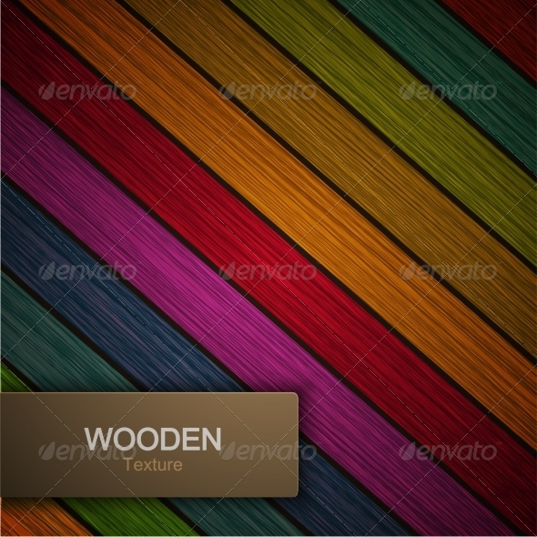 Modern Wooden Background
