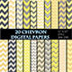 Yellow Chevron Digital Paper Scrapbooking Paper - GraphicRiver Item for Sale
