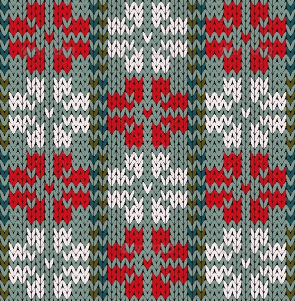 GraphicRiver Knittng Pattern 7981999