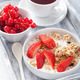 granola with strawberry for breakfast - PhotoDune Item for Sale