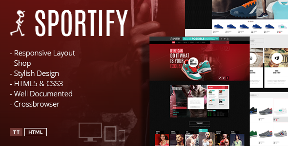 ThemeForest Sportify Gym HTML Theme 7982090