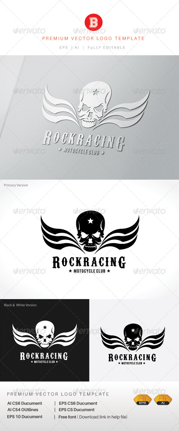 GraphicRiver Rock Racing 7982362