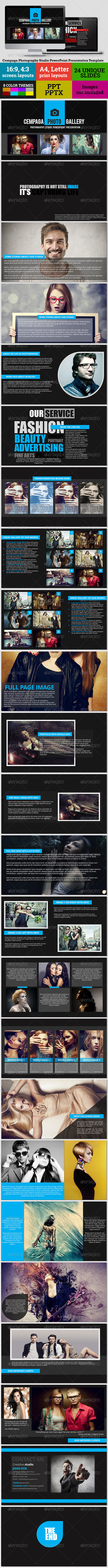 GraphicRiver Cempaga Photography Studio PowerPoint Presentation 7902073