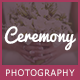 Ceremony - An Elegant Wedding Photography Theme - ThemeForest Item for Sale
