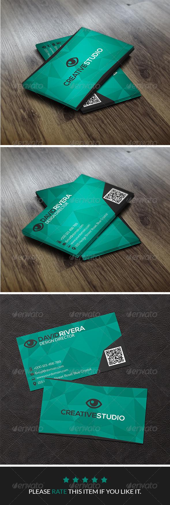 GraphicRiver Creative Studio Business Card Vol.1 7950985