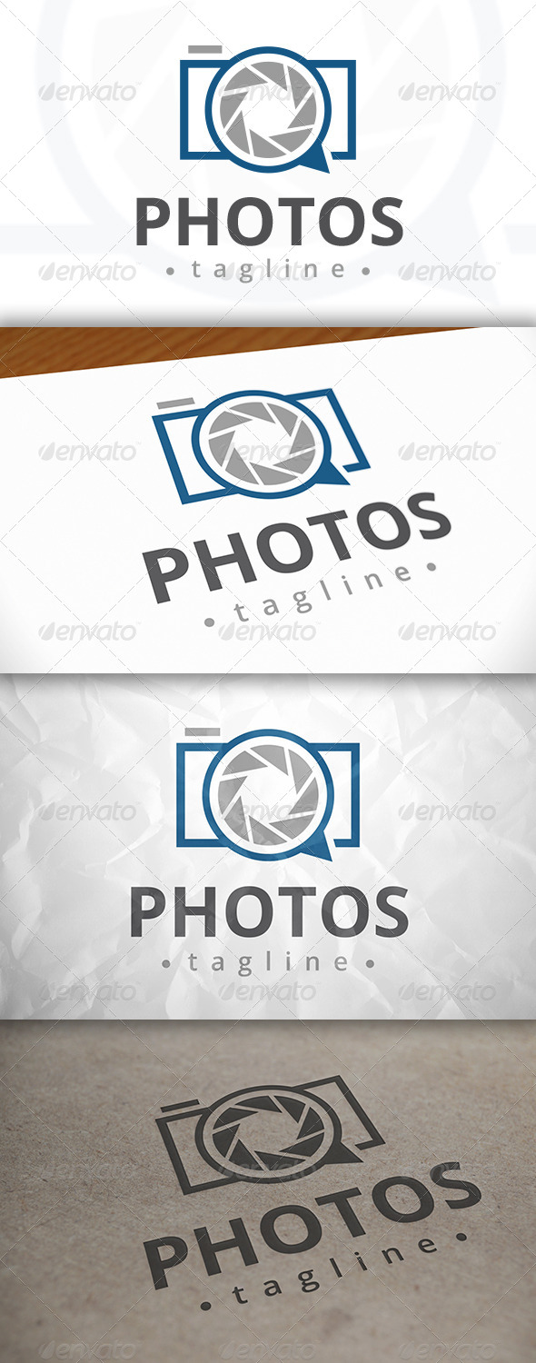 GraphicRiver Photo Chat Logo 7983020