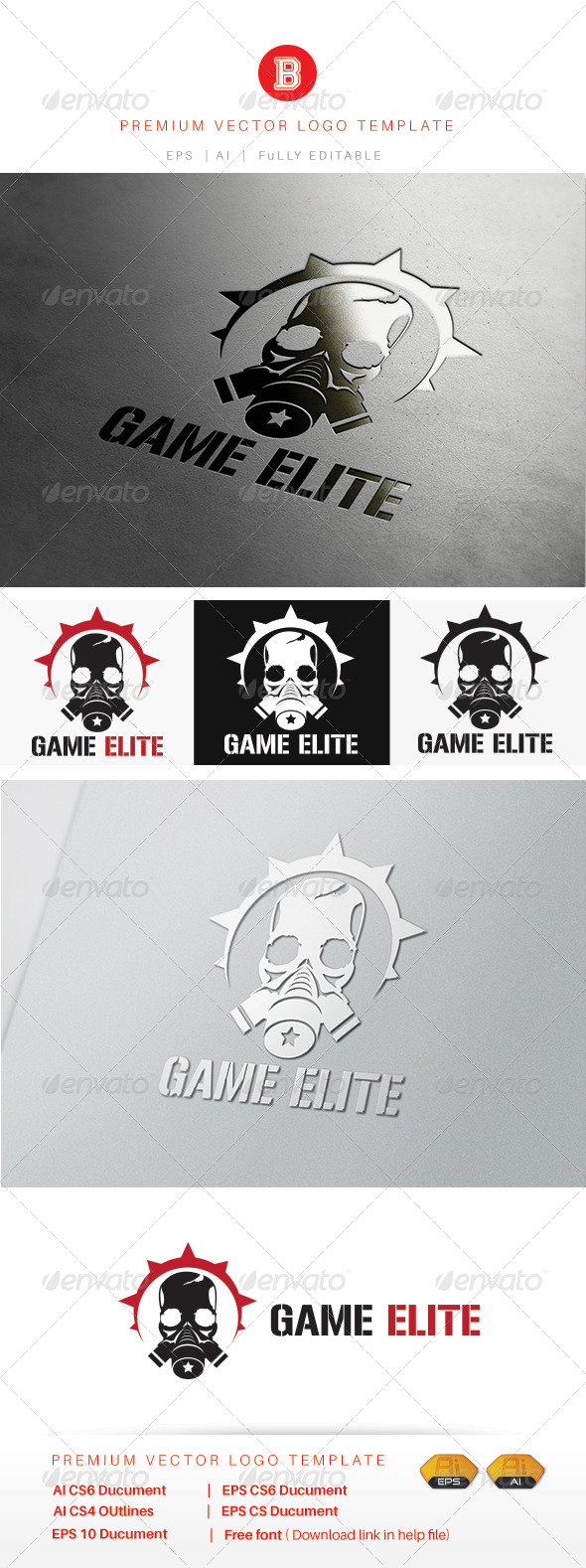 GraphicRiver Game Elite 7983201