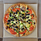 vegetarian pizza takeaway food - PhotoDune Item for Sale